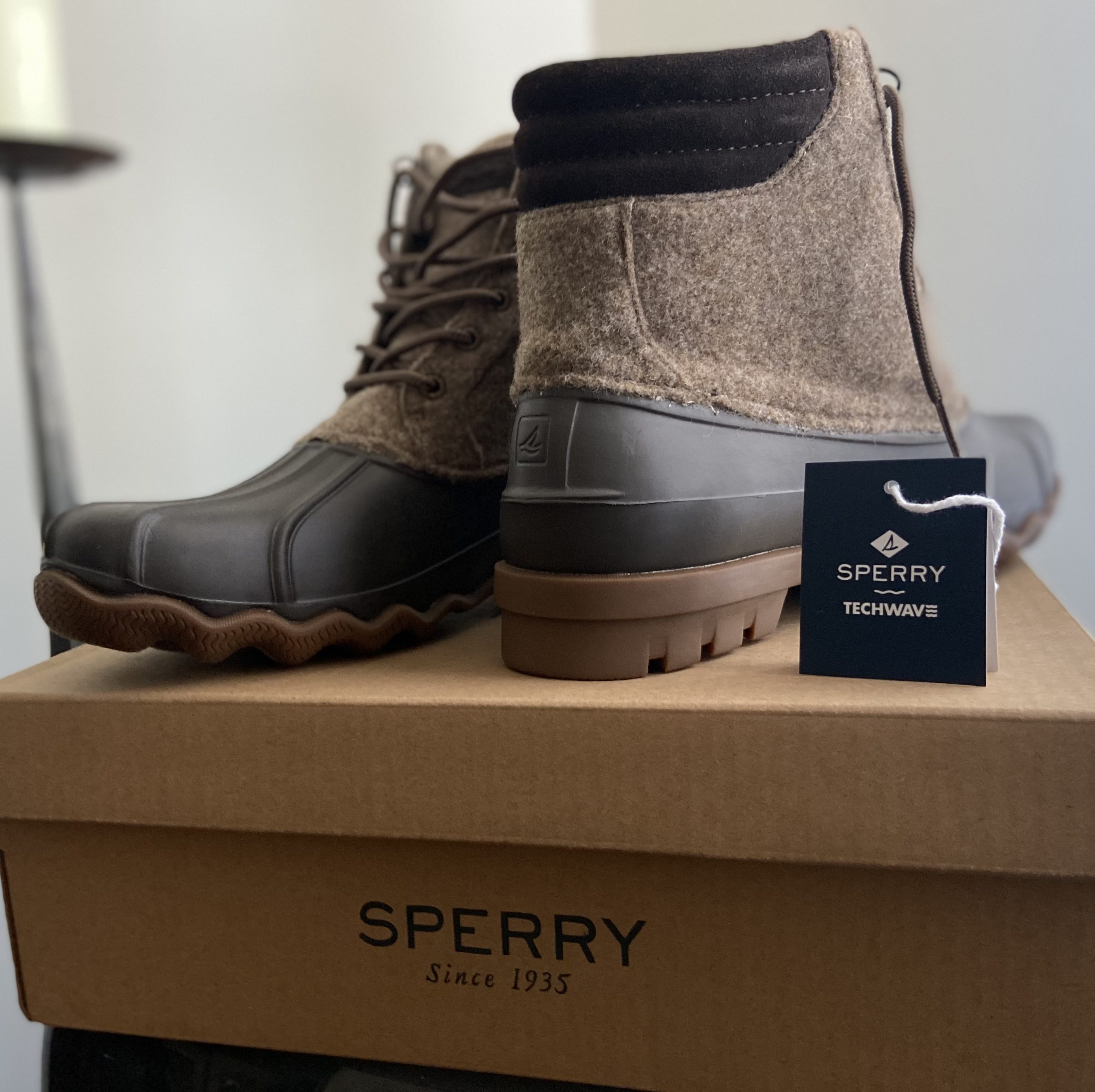 Sperry Duck Boots for 360 Magazine
