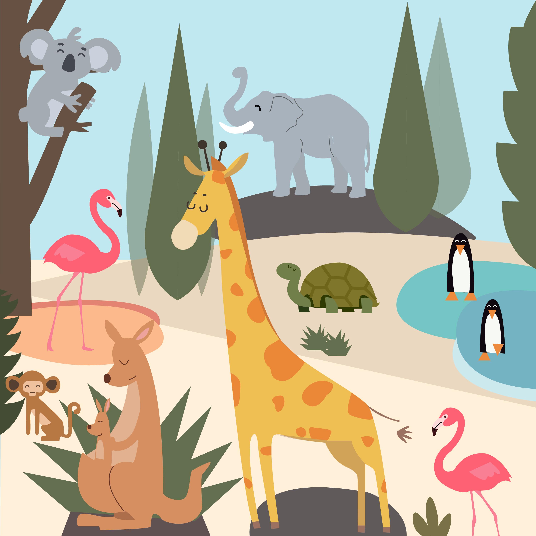 zoo illustration for 360 magazine