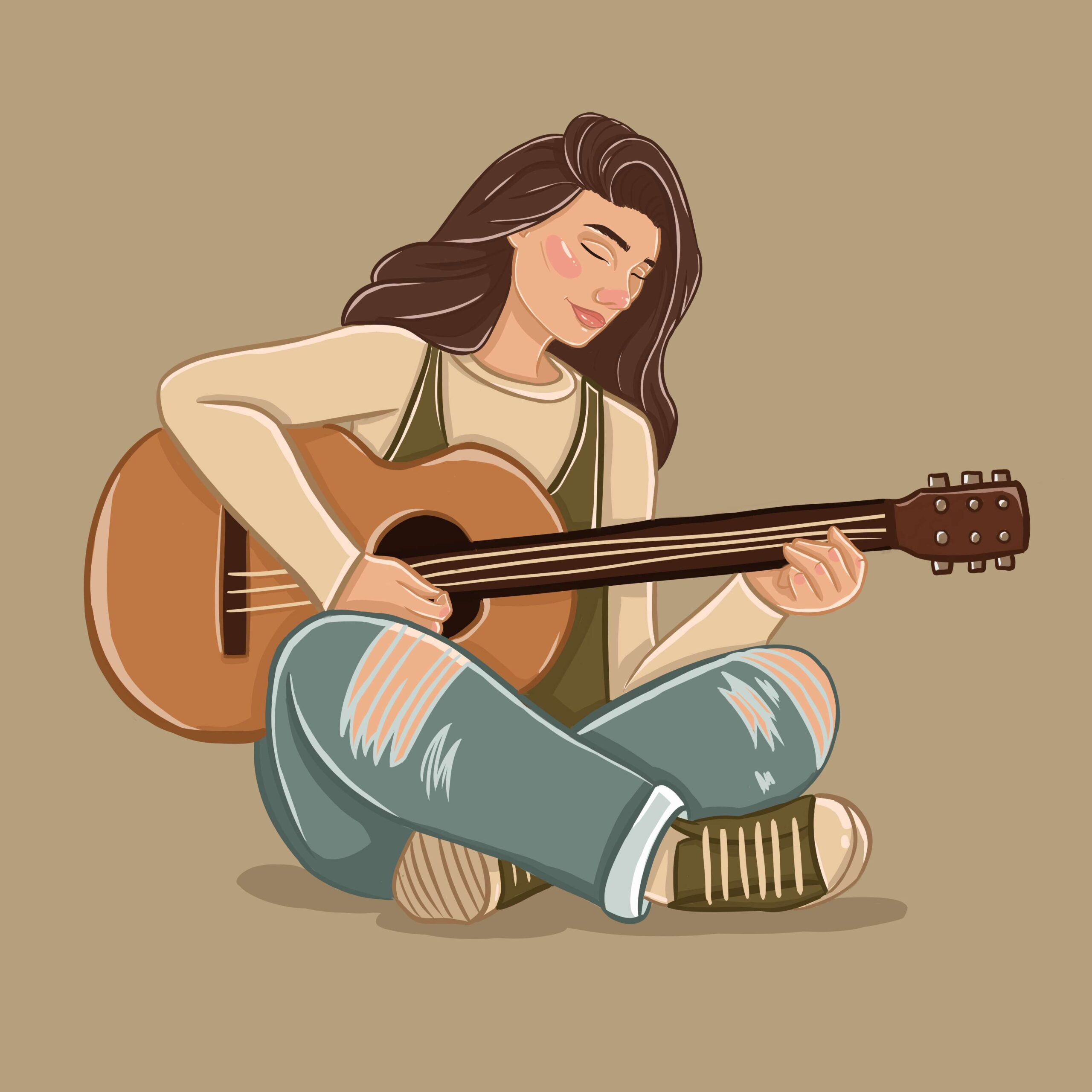 Allison Christensen Illustrates a Music Business Article for 360 MAGAZINE