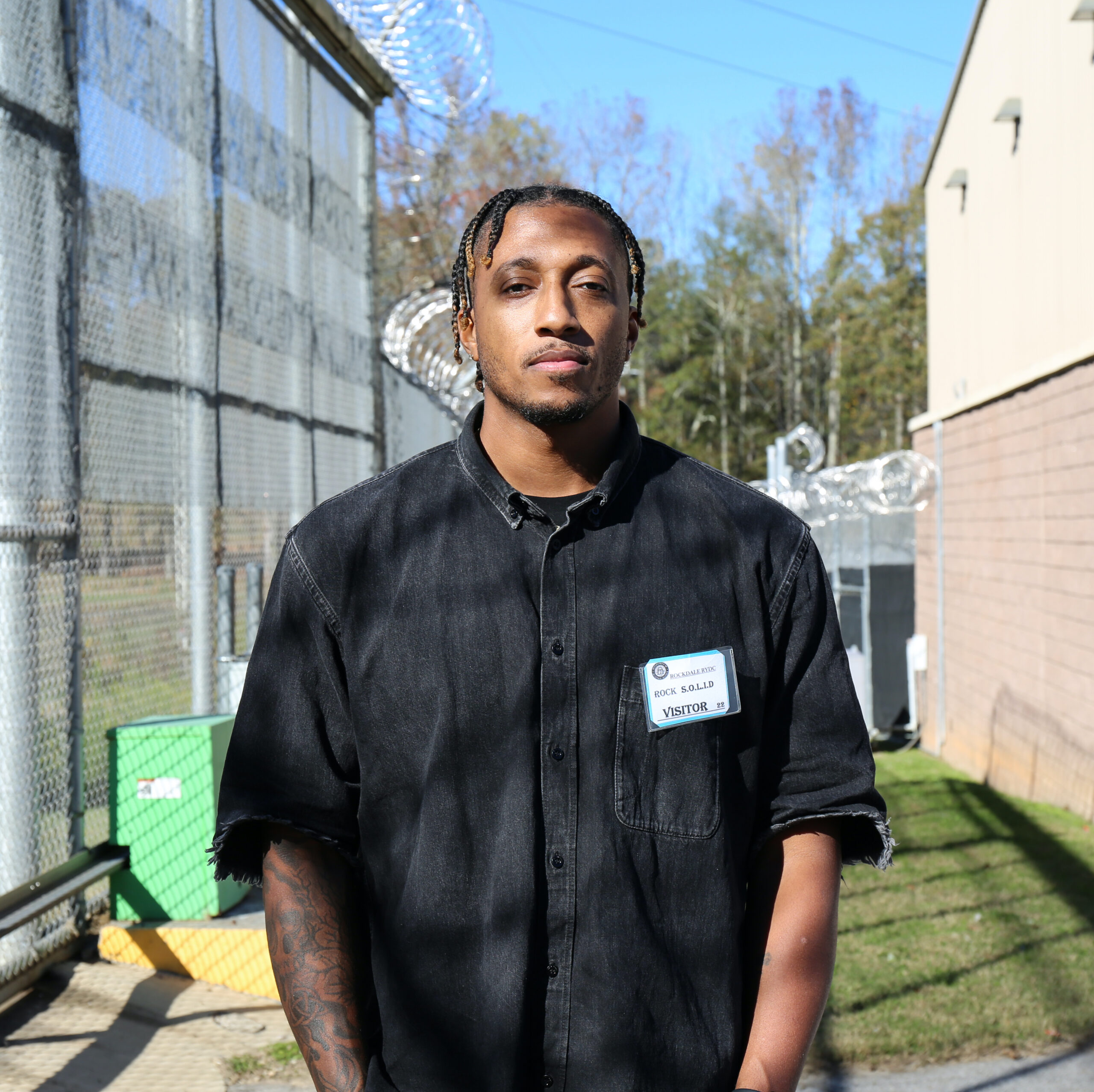 Lecrae inspires DJJ youth