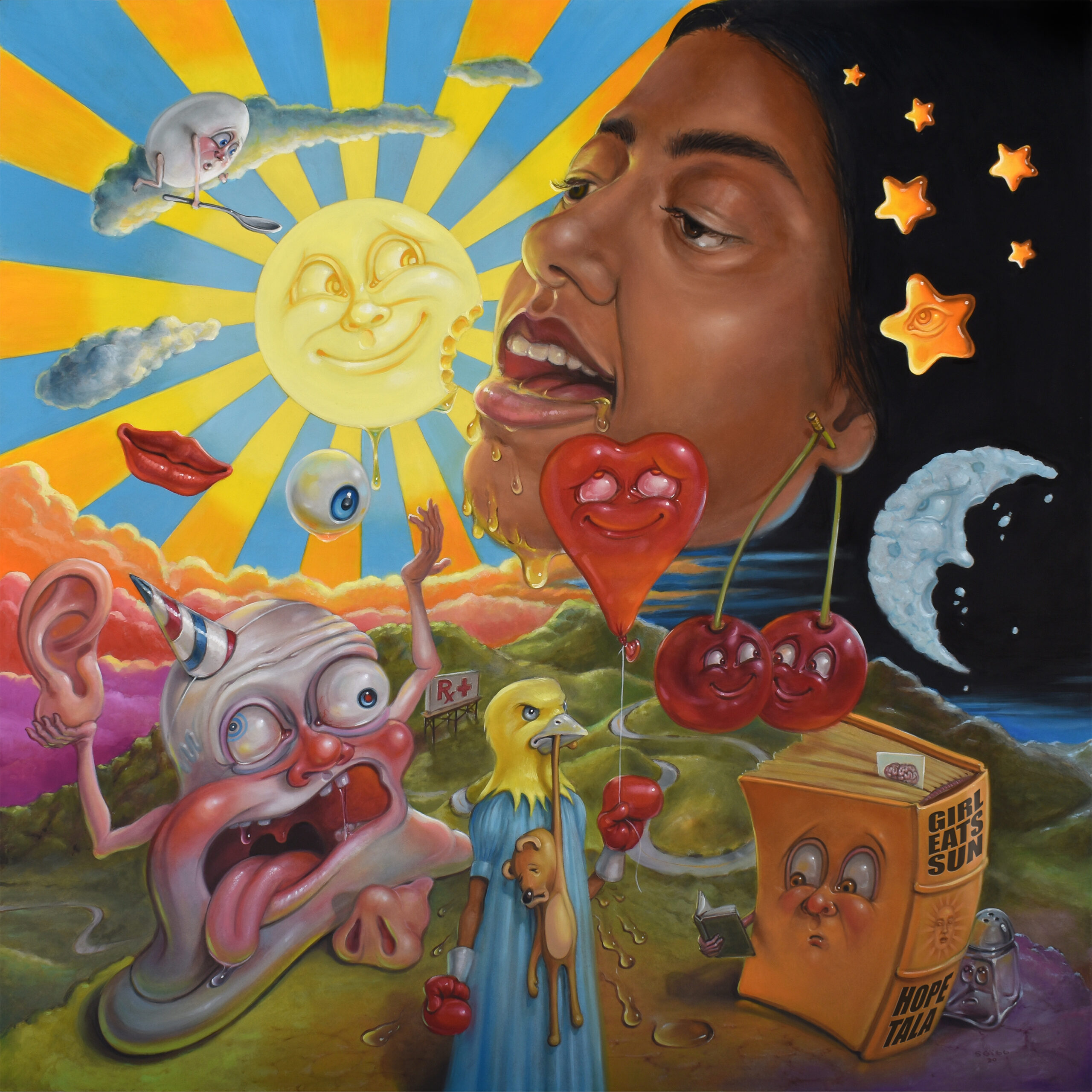 "Hope Tale - ""Girl Eats Sun"" EP"