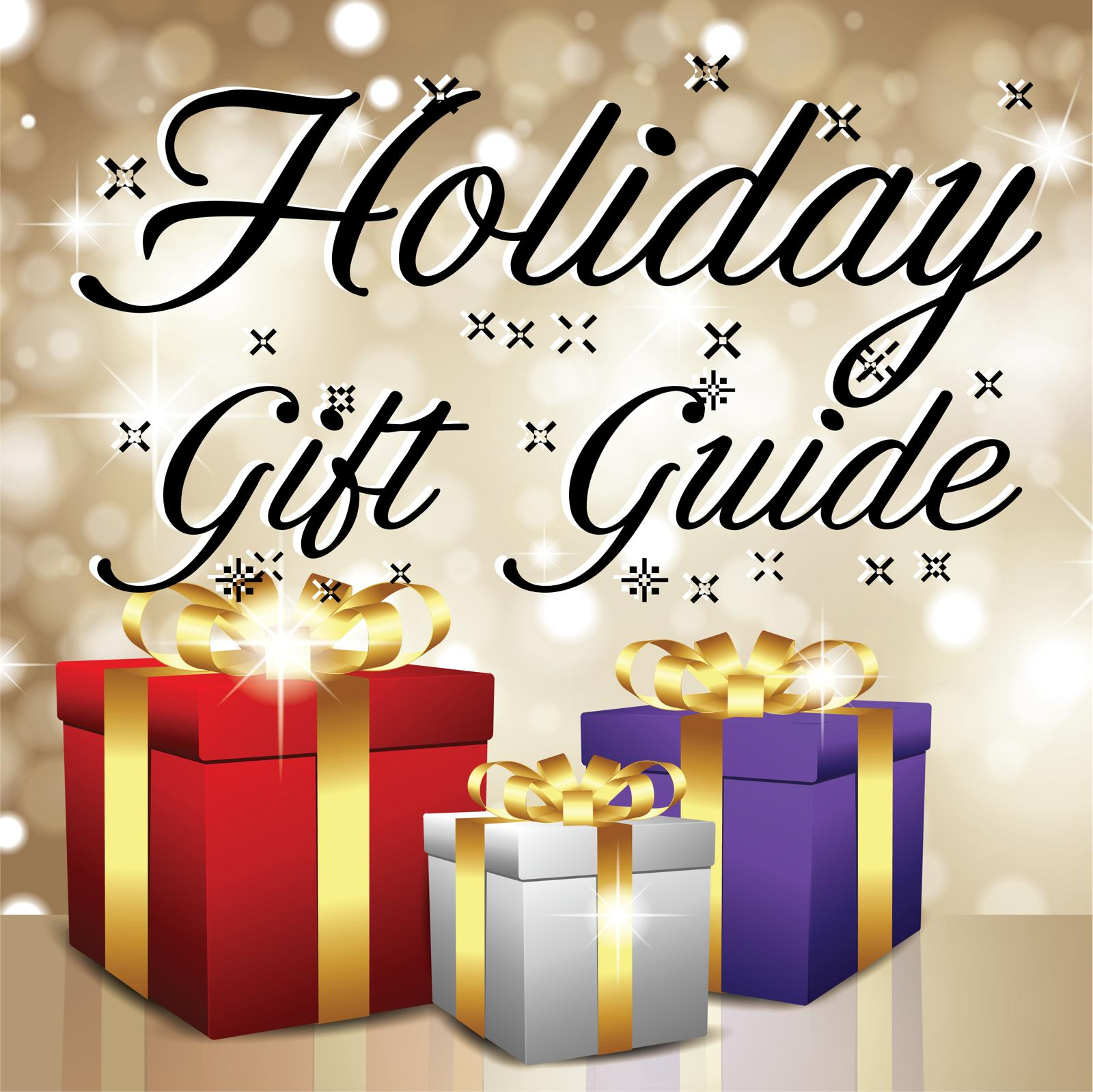 Holiday Gift Guide and round-up article illustration by Gabrielle Archuleta for 360 MAGAZINE