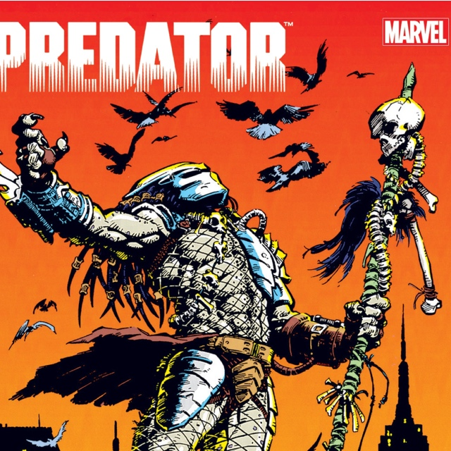 PREDATOR: THE ORIGINAL YEARS OMNIBUS VOL. 1 as announced by 360 MAGAZINE artwork courtesy of Iban Coello.