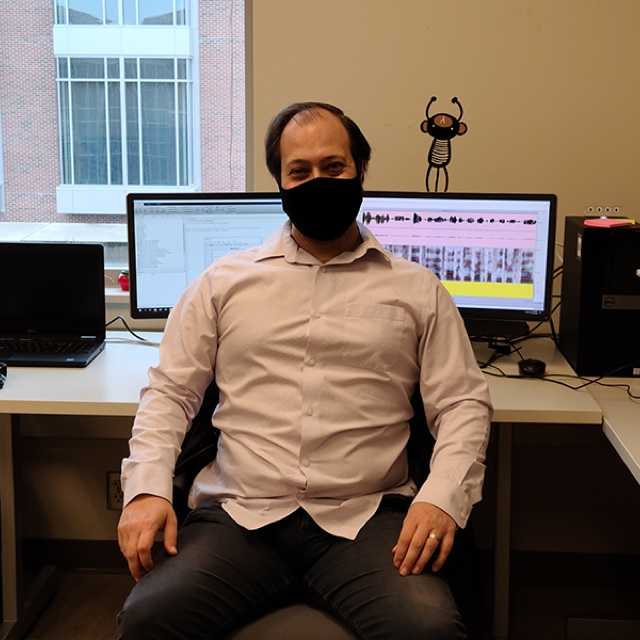 Andrew Exner, a graduate research assistant in Purdue's Motor Speech Lab, is working to help Parkinson's patients during the COVID-19 pandemic as announced by 360 MAGAZINE.