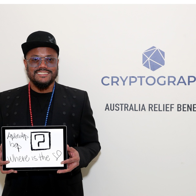 Will. I. Am From the Black Eyed Peas image courtesy of Cryptograph.co