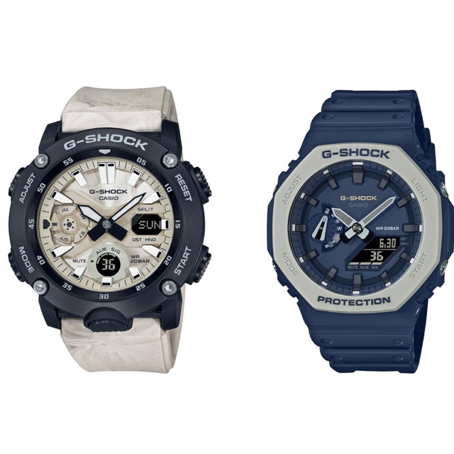 G-SHOCK releases Earth Tone Color Series and Utility Marble Series as announced by 360 MAGAZINE.