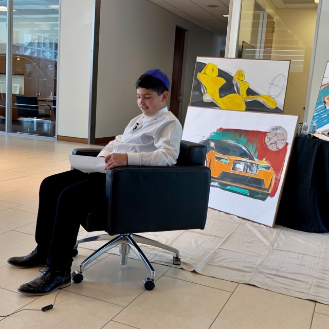 10-year-old Elijah Machado wins Rolls-Royce design competition as announced by 360 MAGAZINE.