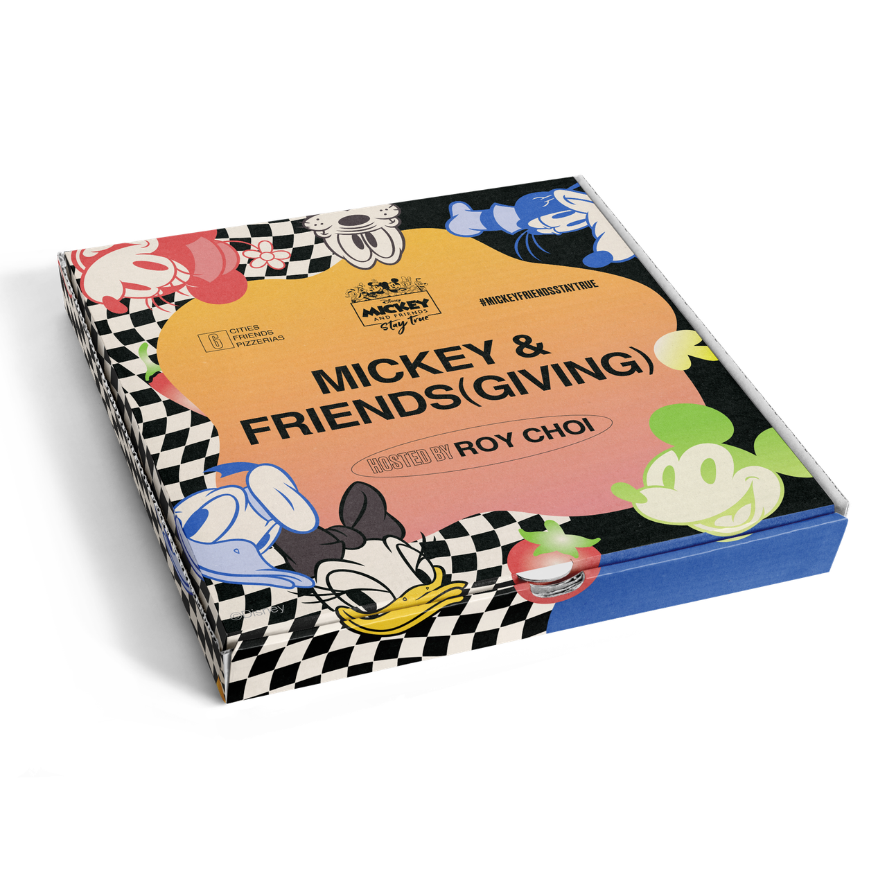 "DISNEY × ROY CHOI TO LAUNCH ""MICKEY & FRIENDS(GIVING)"""