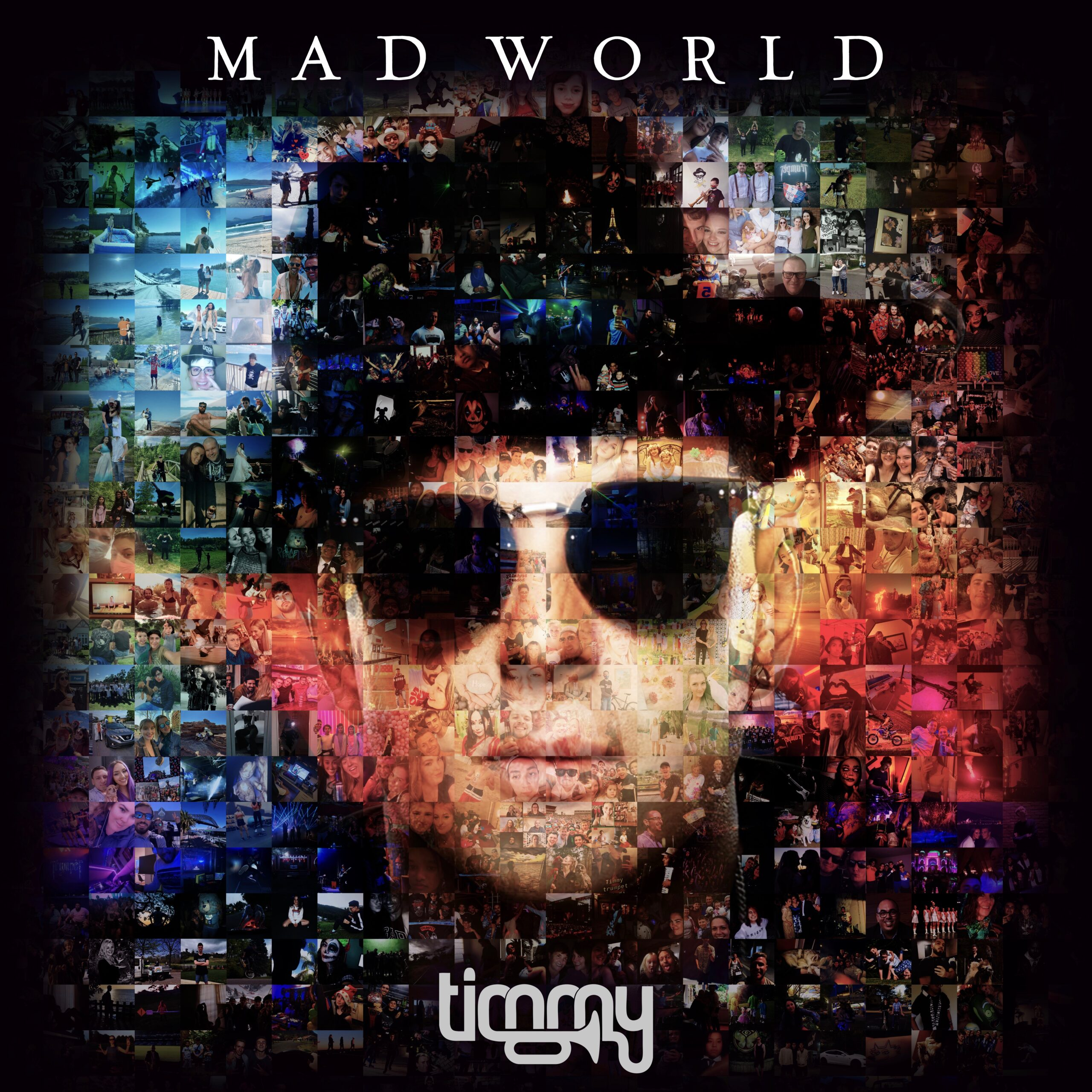 Mad World Album Artwork Shaun Barker (Timmy Trumpet)
