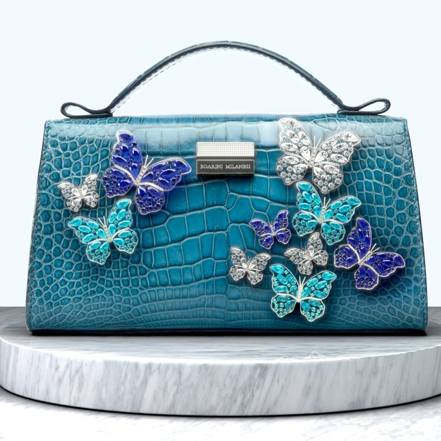Boarini Milanesi is launching a 6 million euro bag as announced by 360 MAGAZINE