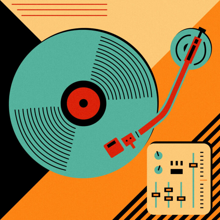 Music illustration for Pornhub article in 360 MAGAZINE