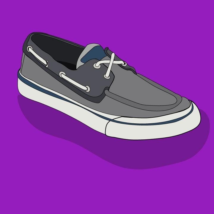 Sperry illustration by Kaelen Felix for 360 Magazine