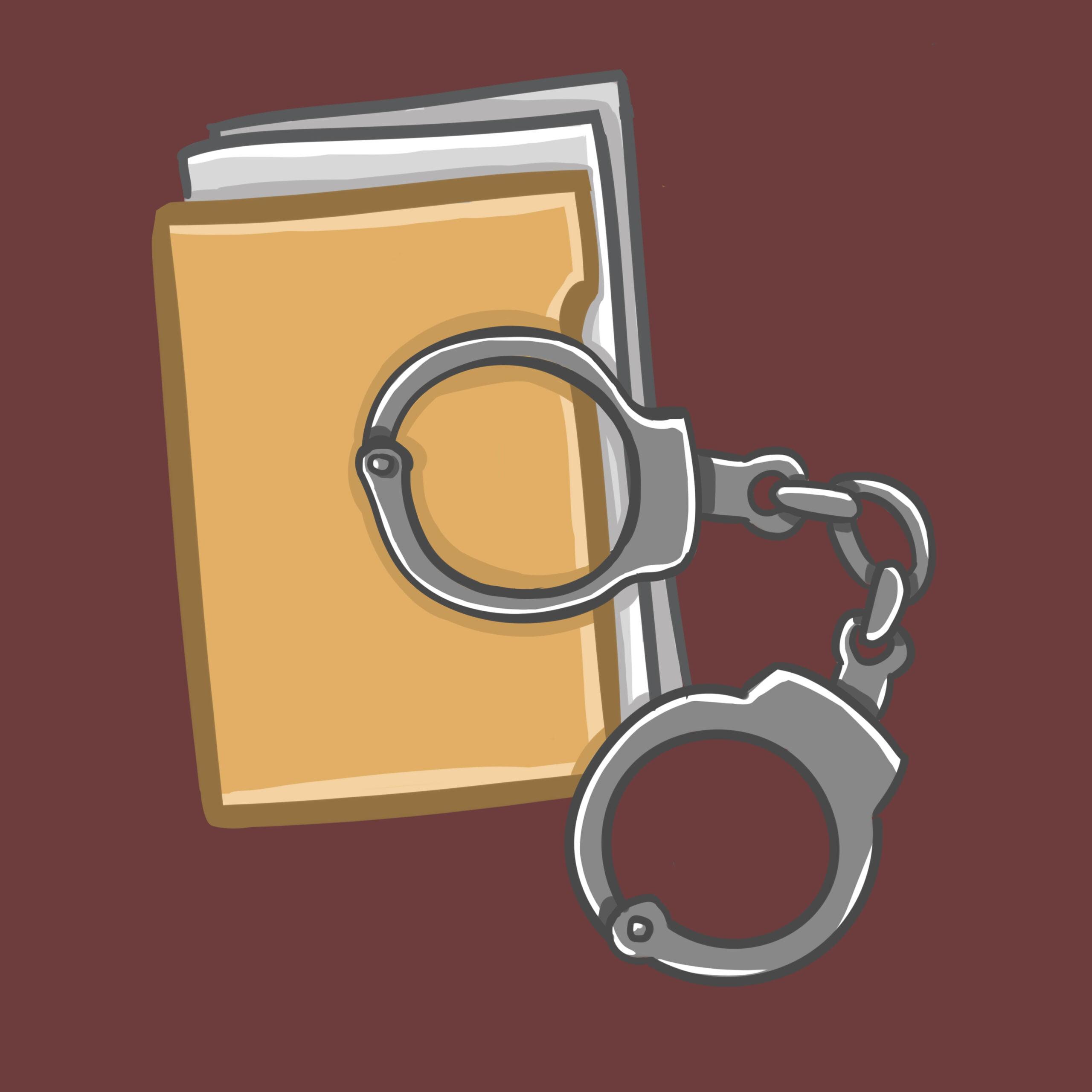 Law article illustration designed by Allison Christensen for 360 MAGAZINE