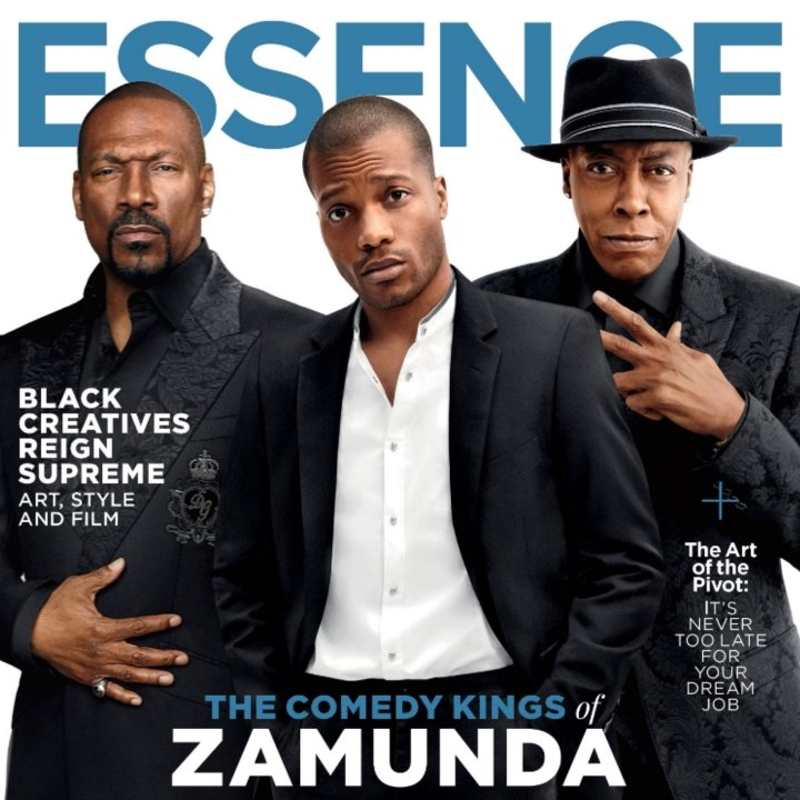 Essence Magazine article for 360 Magazine coverage for Coming to America