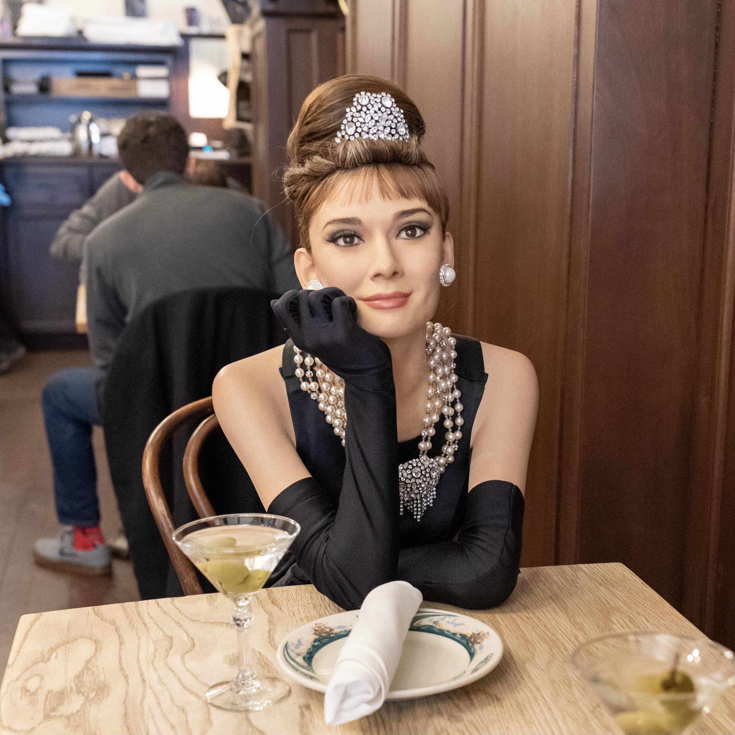 Audrey Hepburn by Peter Luger Steakhouse & Madame Tussauds for 360 Magazine