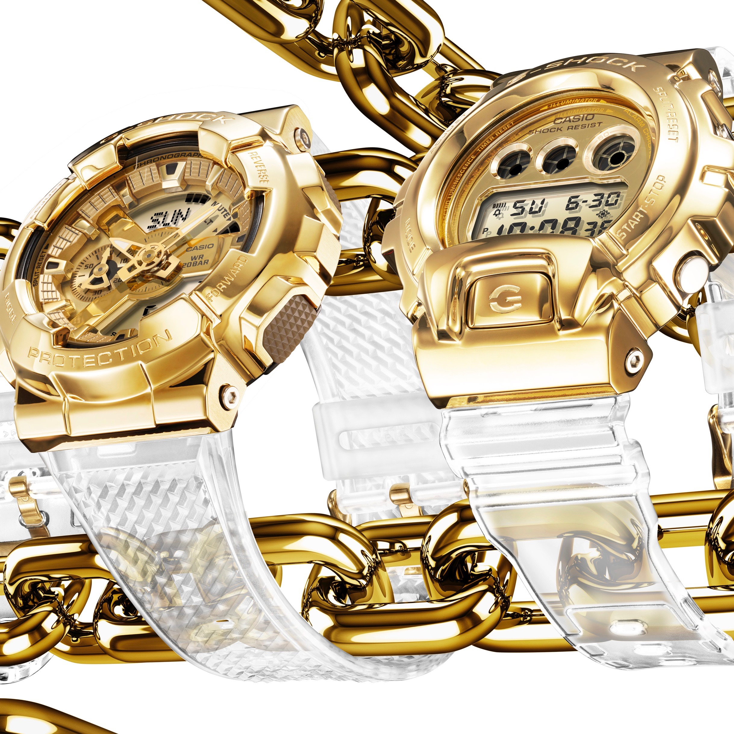 G-SHOCK Gold Watch