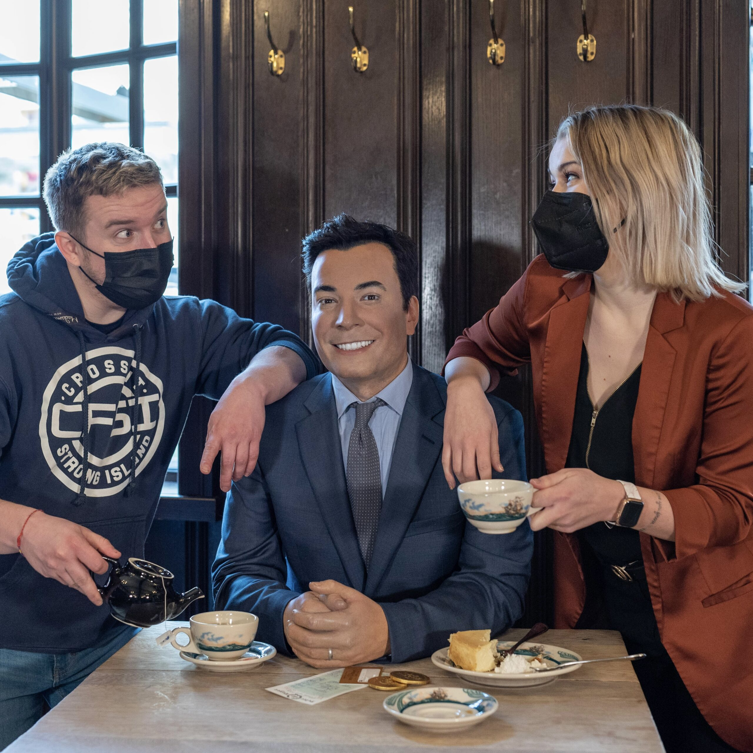 Jimmy Fallon by Peter Luger Steakhouse & Madame Tussauds for 360 Magazine