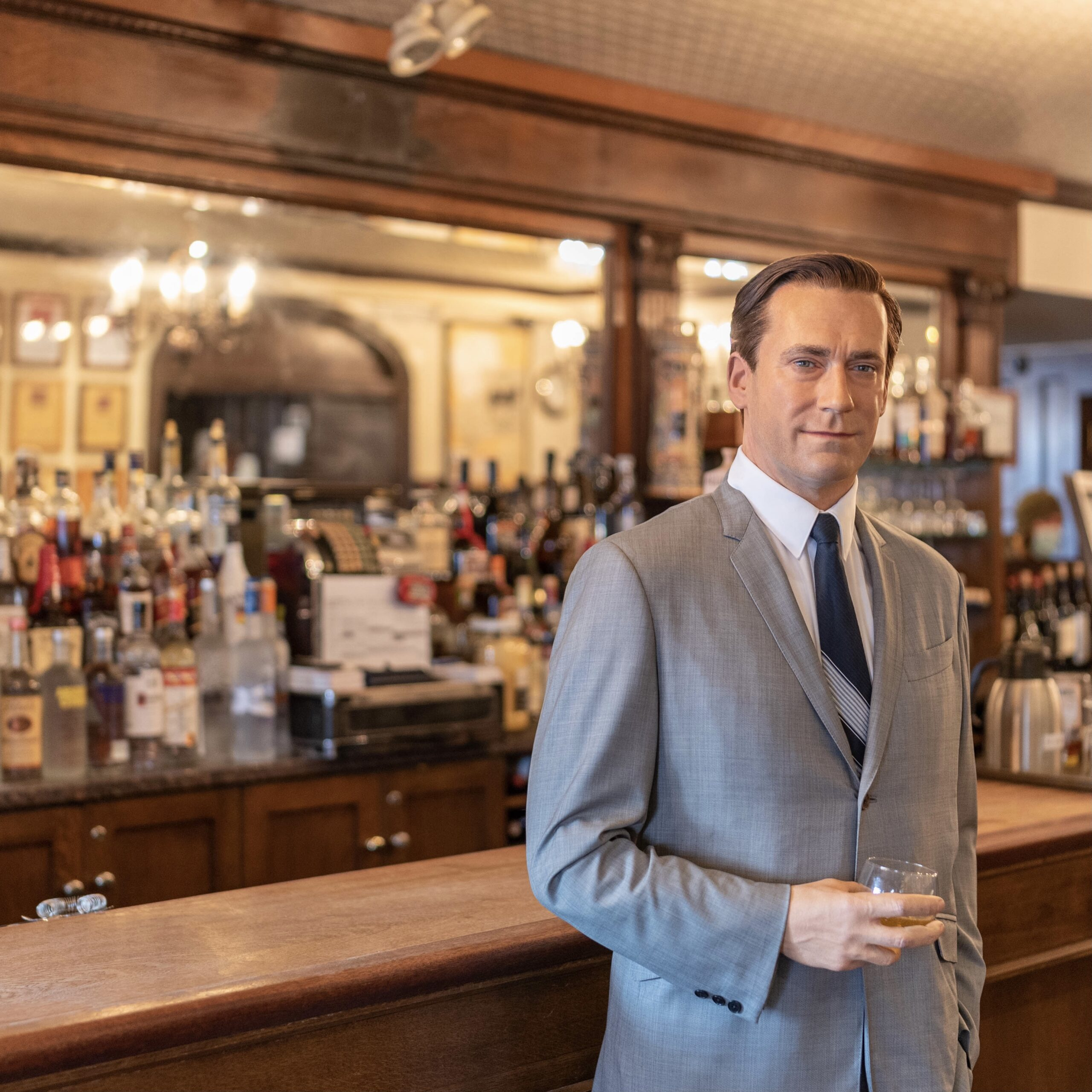Jon Hamm by Peter Luger Steakhouse & Madame Tussauds for 360 Magazine