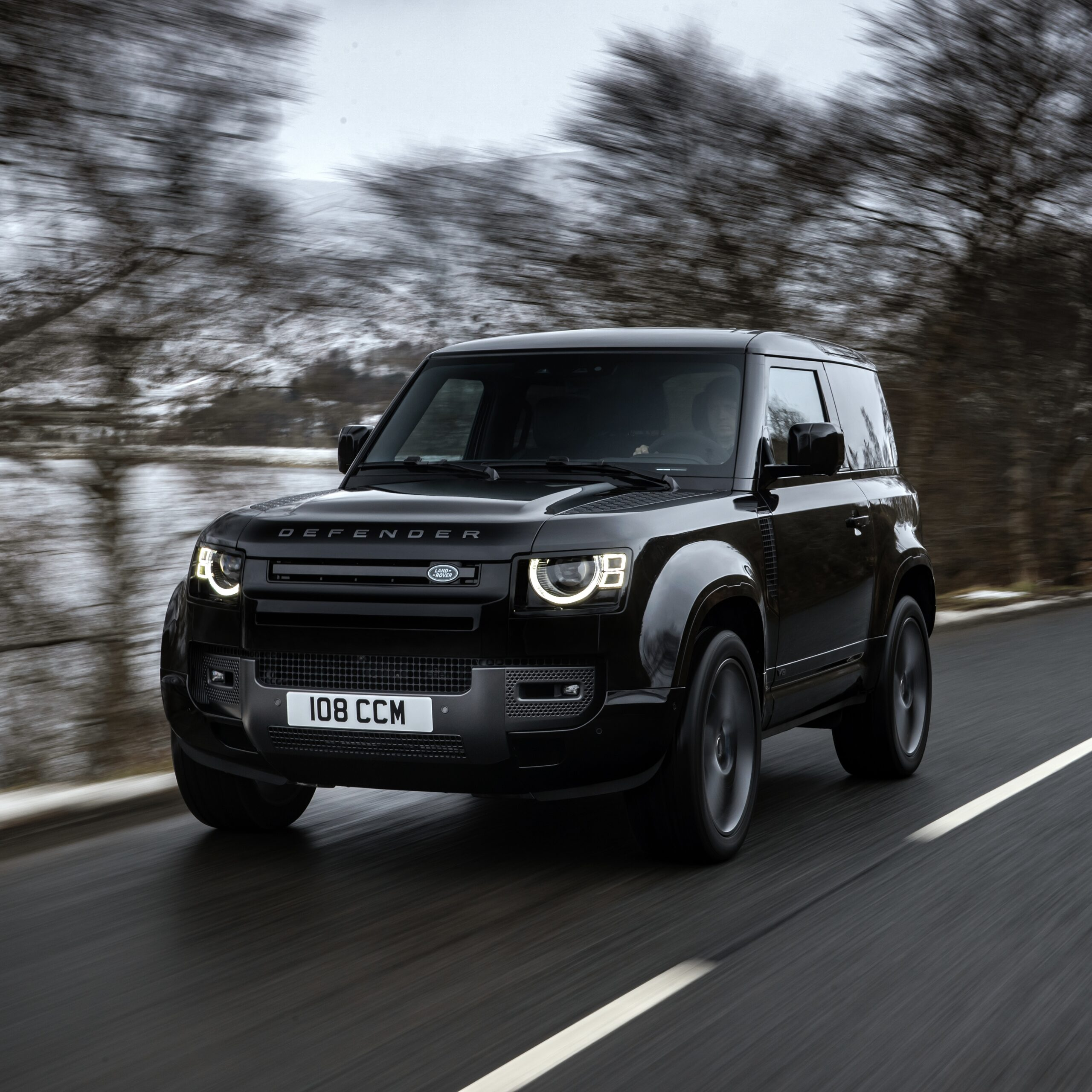 Land Rover Defender v8 90 for use by 360 Magazine