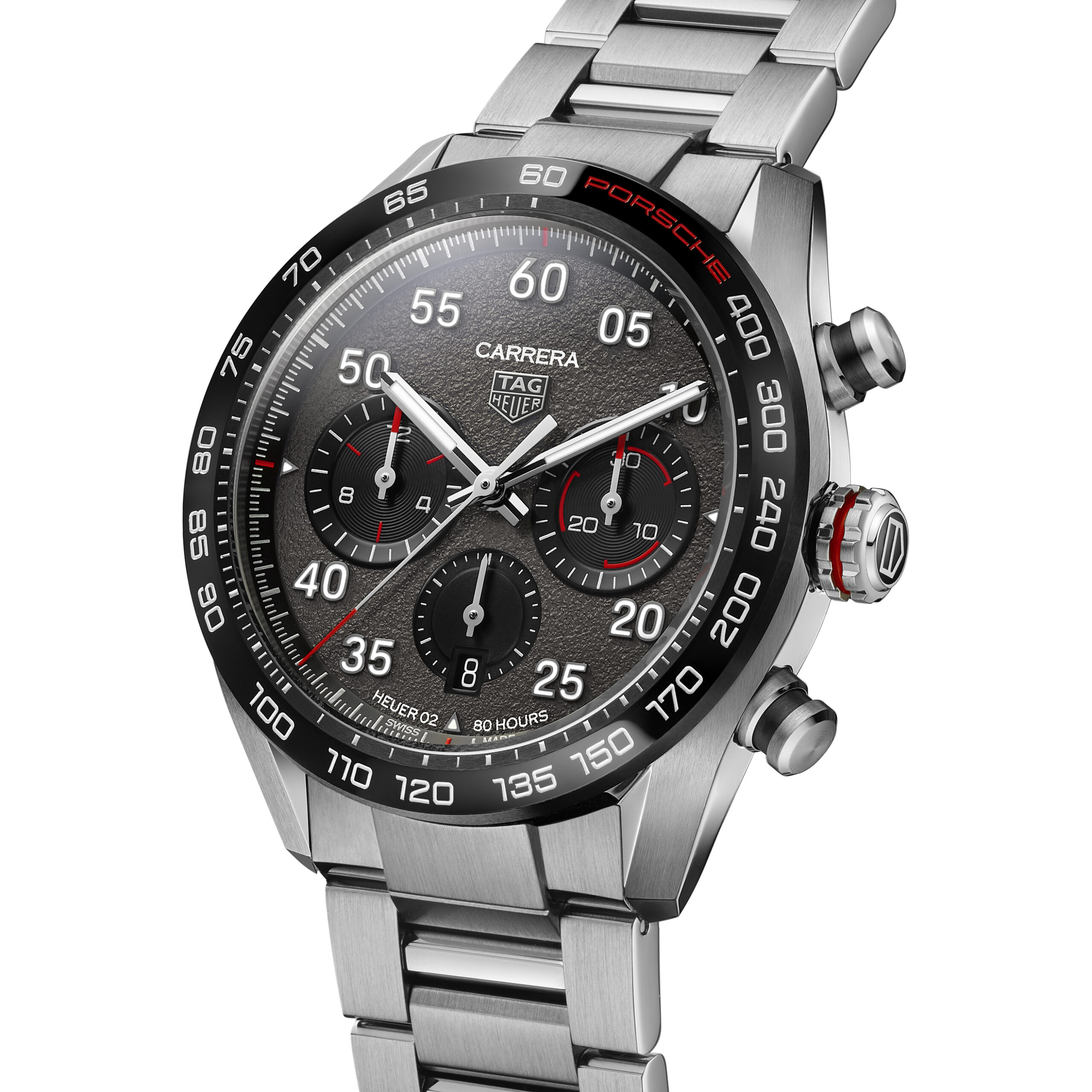 TAG Heuer Carrera Porsche Chronograph for 360 Magazine