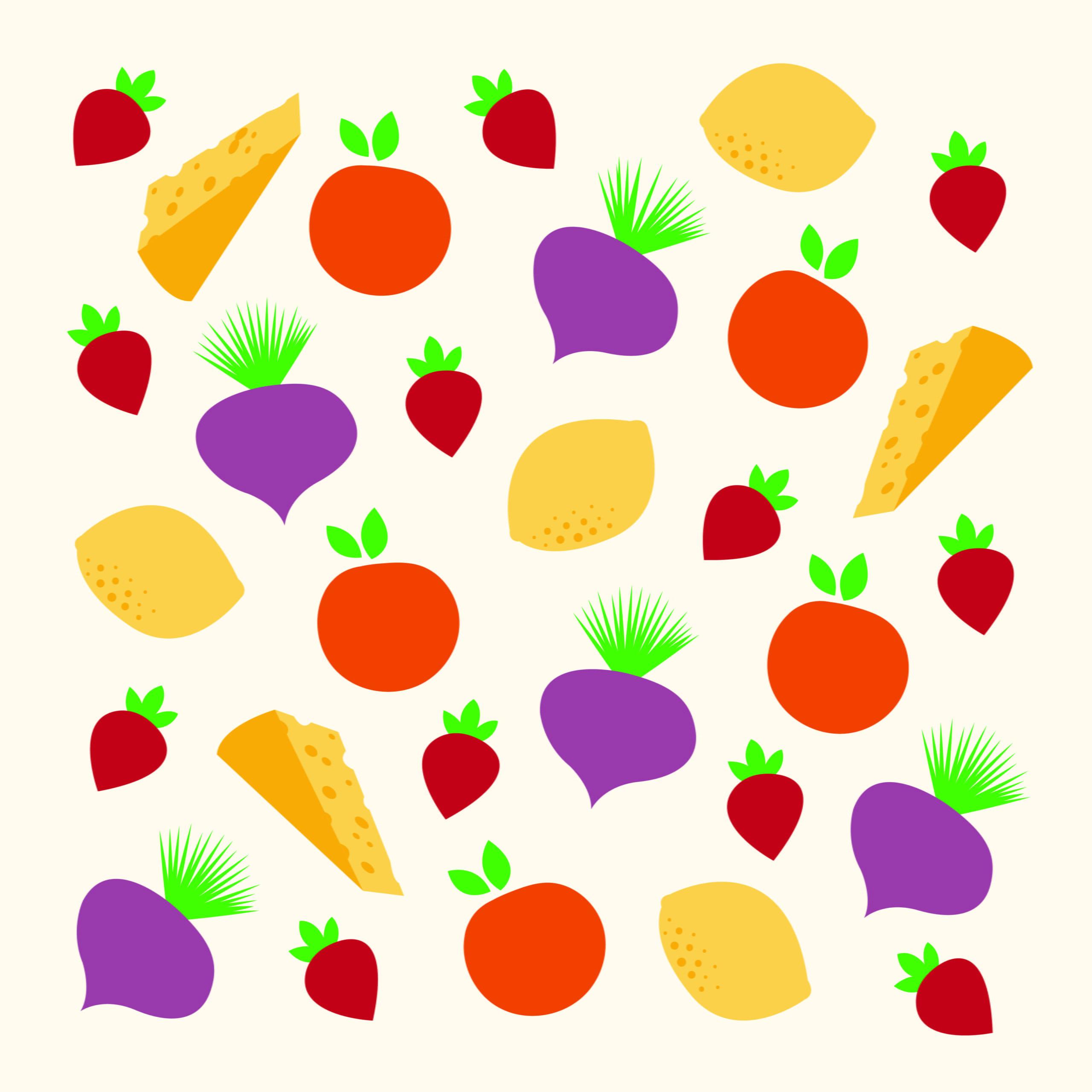 Food illustration by Rita Azar for 360 Magazine