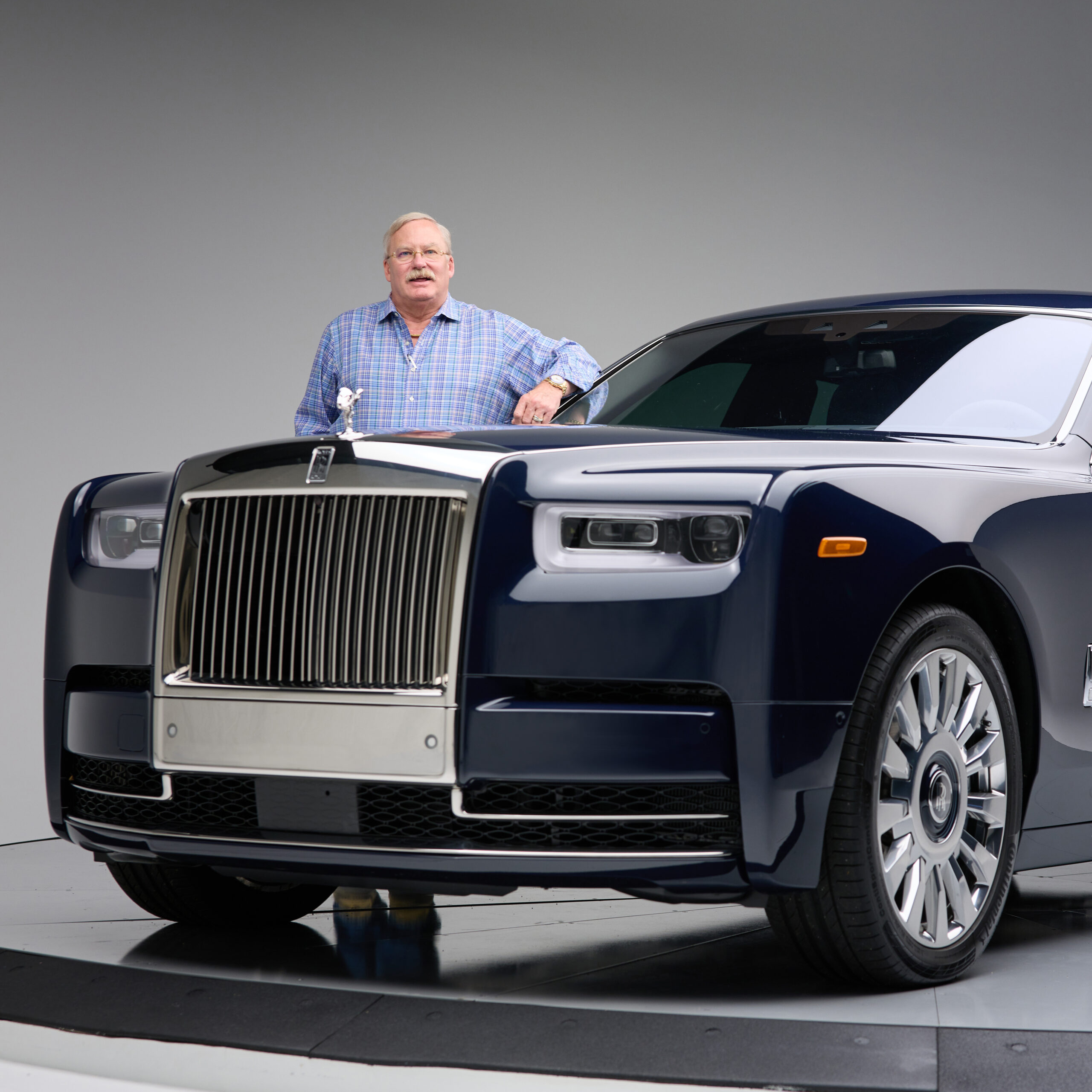 Rolls Royce Phantom for 360 Magazine