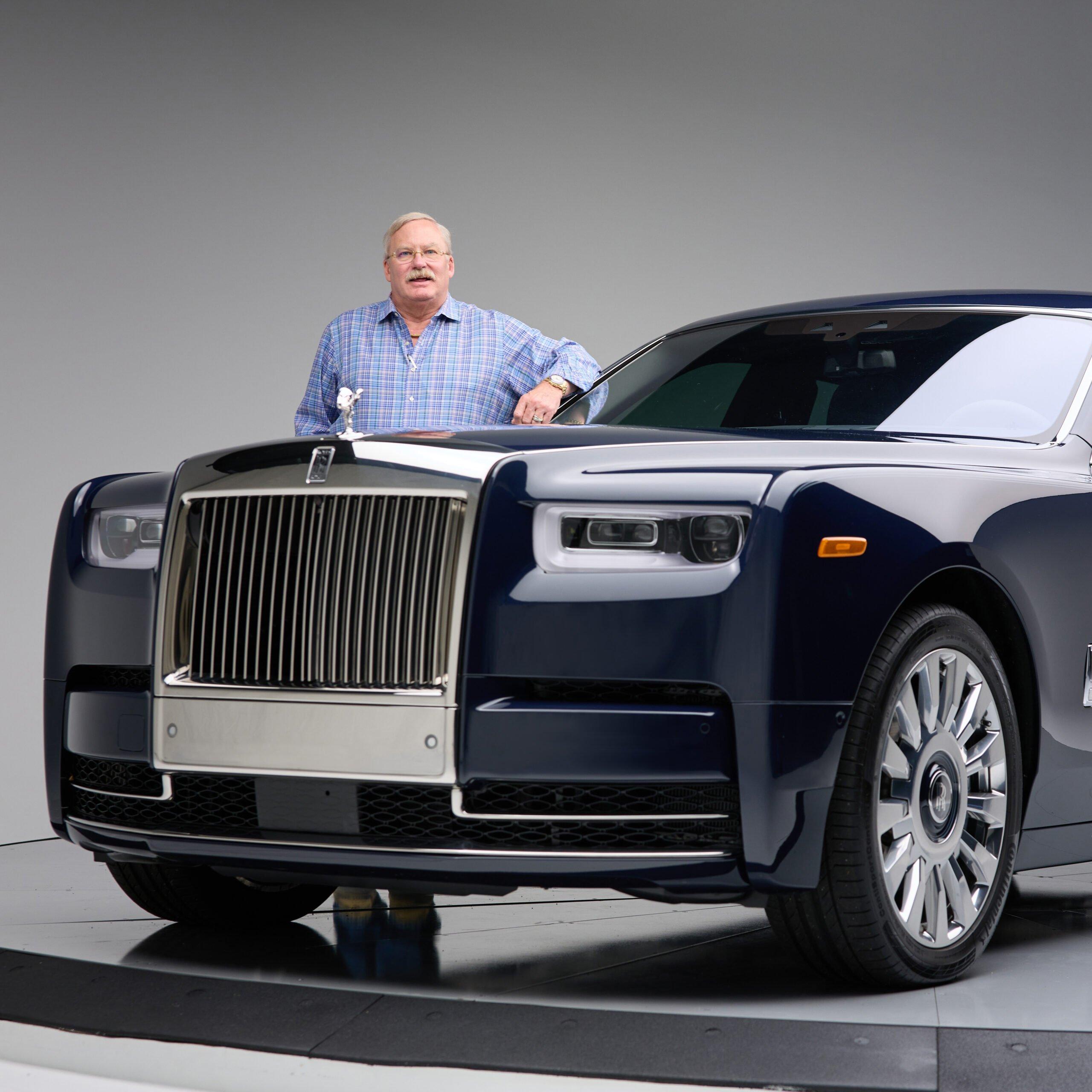 Rolls Royce Phantom for 360 Magazine
