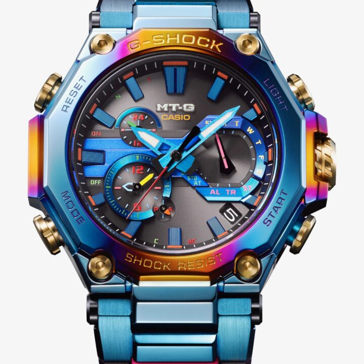 G-SHOCK's MTGB200PH2A watch image from Juan Balbuena at M&C Saatachi Sports & Entertainment for use by 360 Magazine