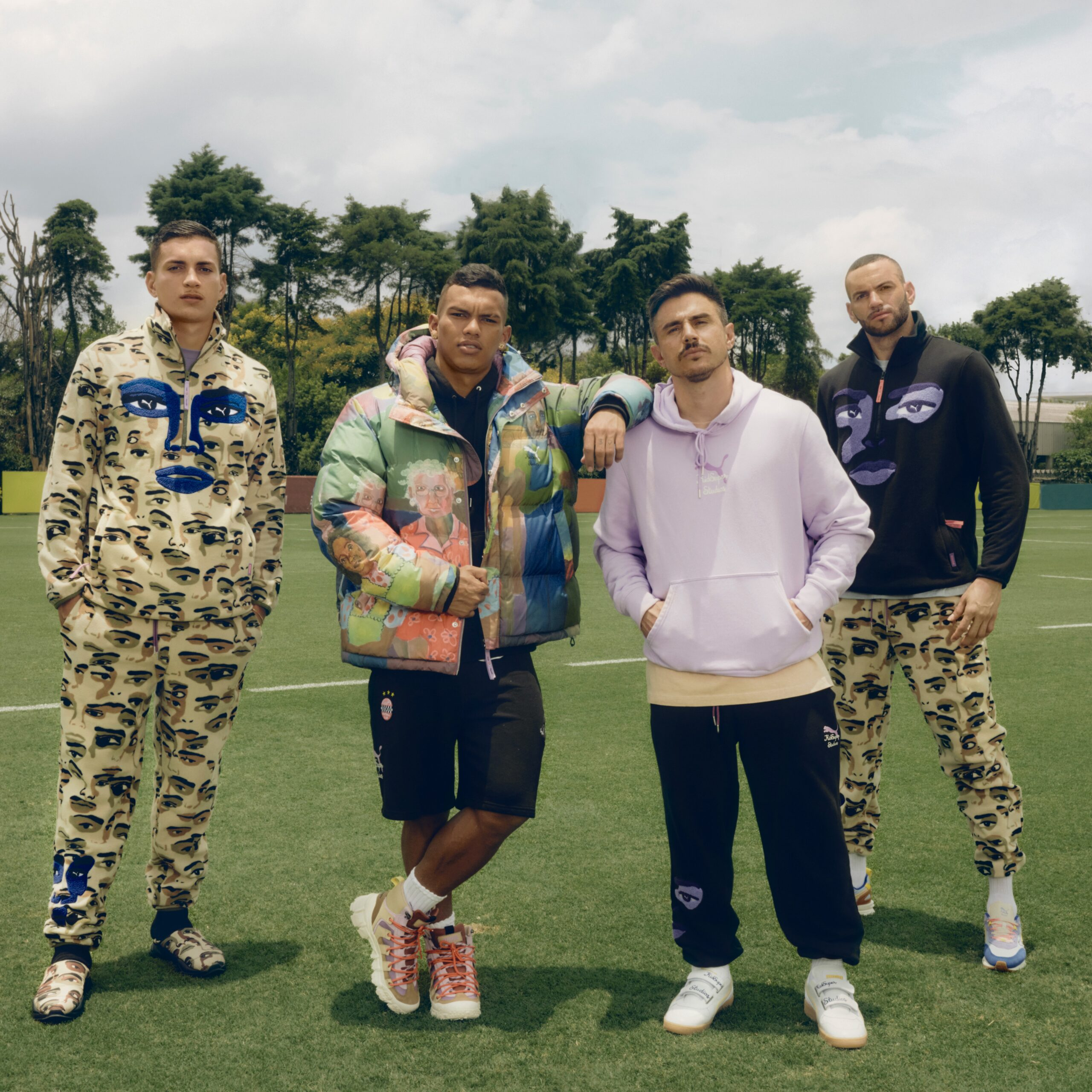 Puma and Kidsuper Studios collab for use by 360 Magazine