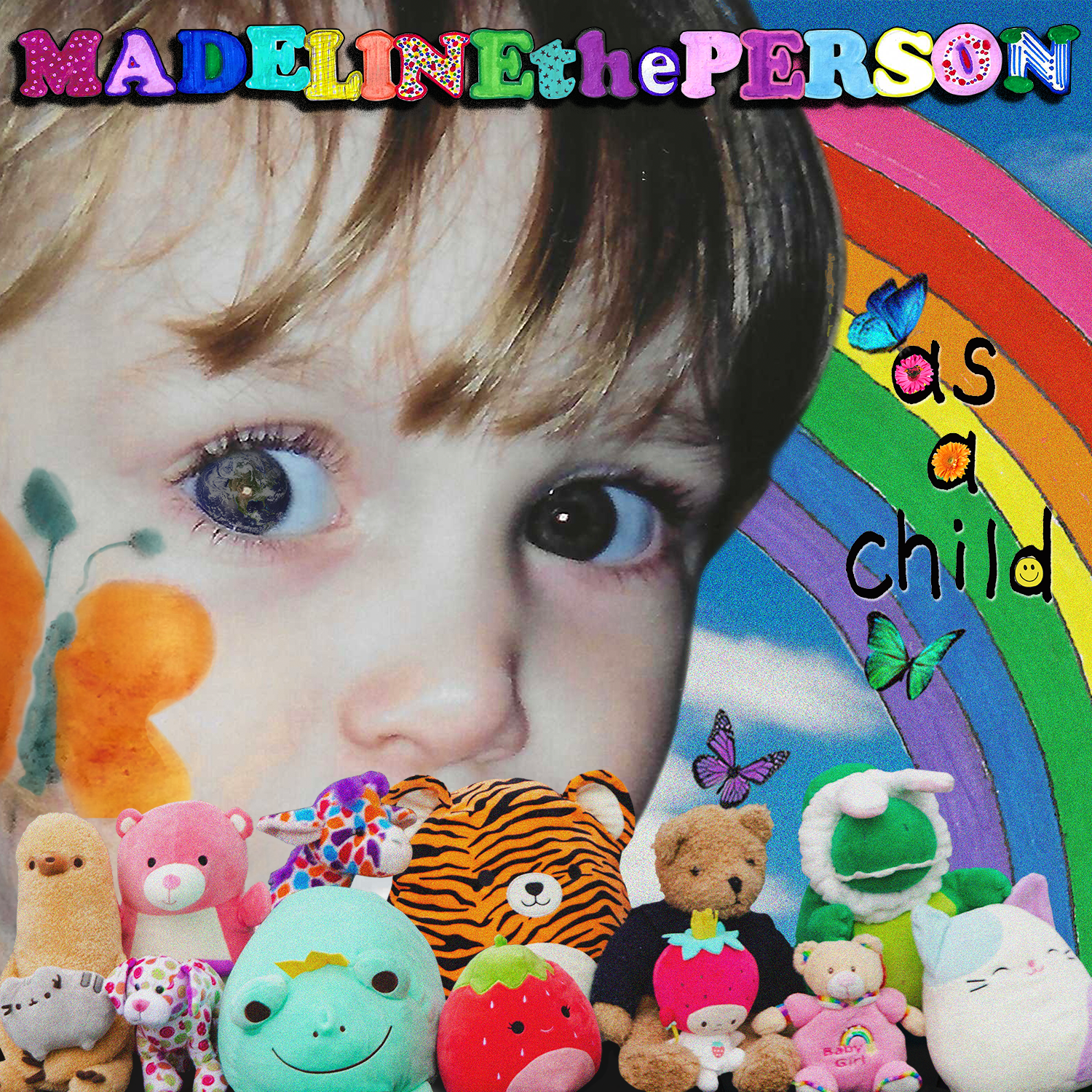 As A Child cover art of Madeline The Person by Warner Records for use by 360 Magazine