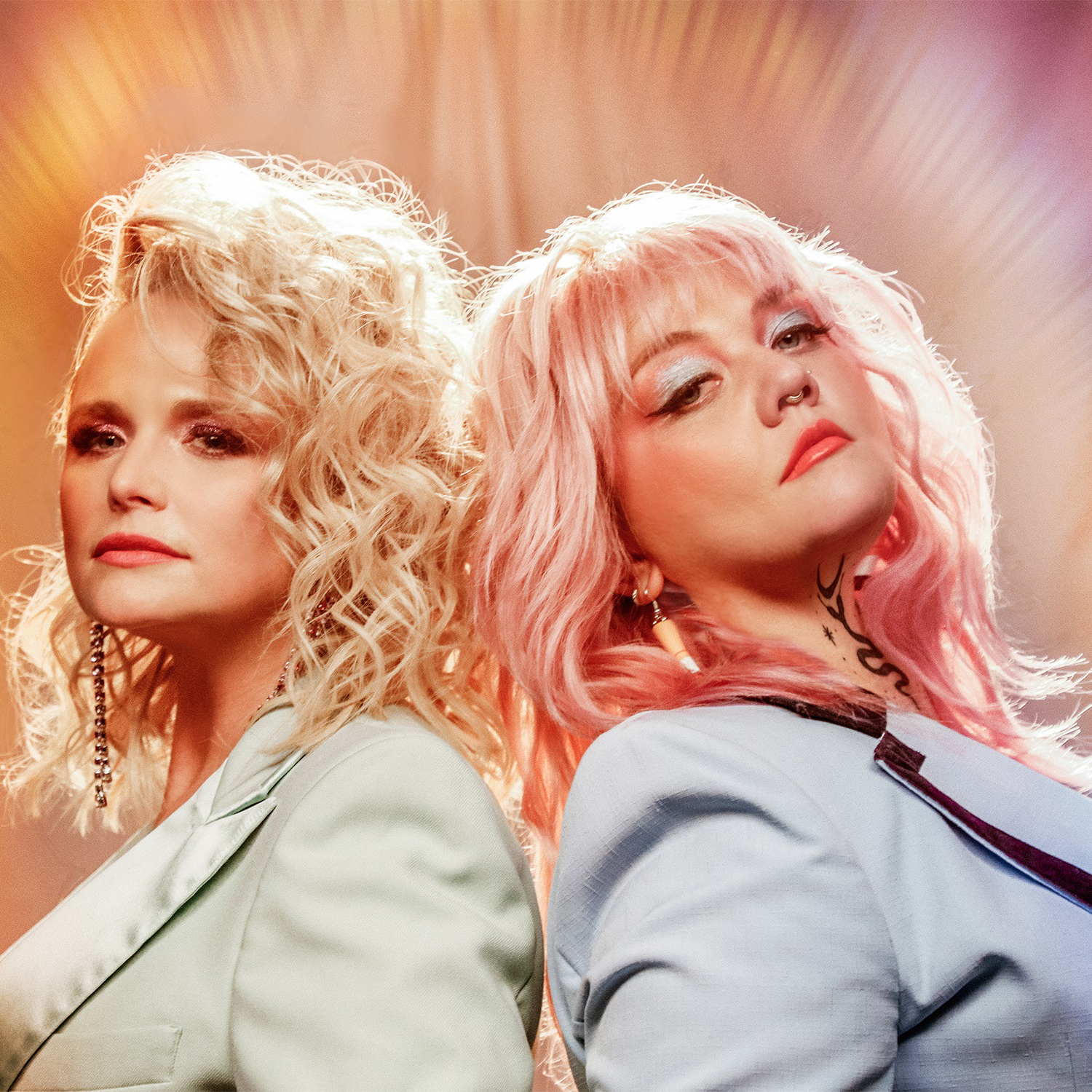 """Elle King and Miranda Lambert """"Drunk"""" PR image for Sony music by Kimberly Manfre, uploaded by Sarah Weinstein Dennison, for use by 360 Magazine"""