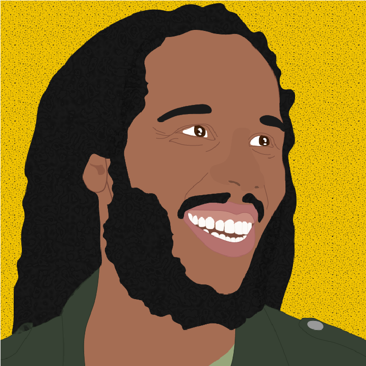 Ziggy Marley illustration by Heather Skovlund for 360 Magazine