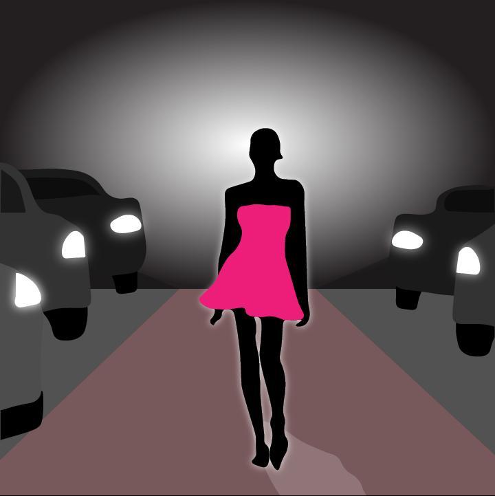360 MAGAZINE drive-thru runway illustration by Heather Skovlund