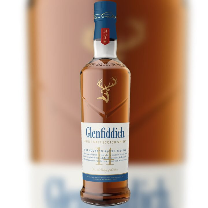 Glenfiddich 14-Year-Old Single Malt Scotch Whisky via Taylor Georgeson at M&C SAATACHI for use by 360 Magazine
