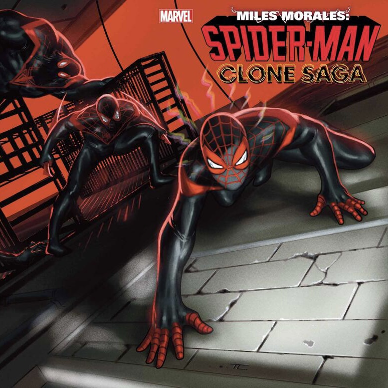 MILES MORALES: SPIDER-MAN #25 Art by CARMEN CARNERO Cover by TAURIN CLARKE of Marvel Entertainment for use by 360 Magazine