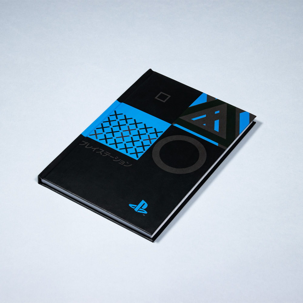 Notebook by PlayStation for use by 360 Magazine