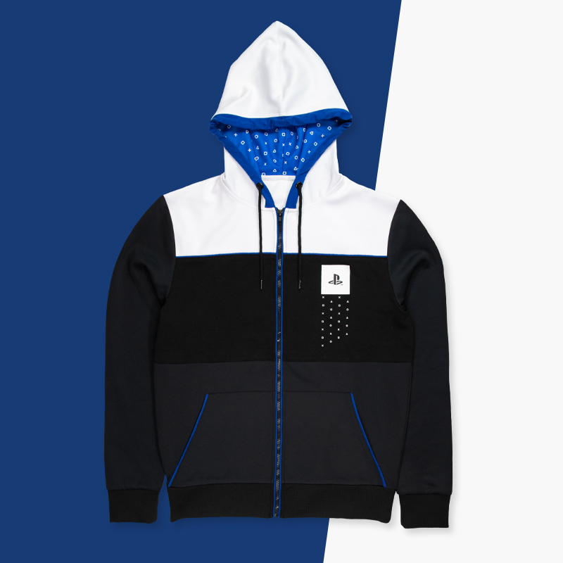 Hoodie by PlayStation for use by 360 Magazine