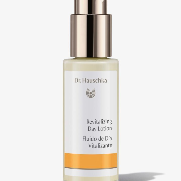 Balancing Day Lotion Bottle image from Dr. Hauschka via Paul Rousseas at ATLIER Creative Serviced for use by 360 Magazine