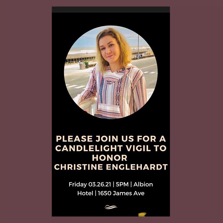 Christine Englehardt vigil image