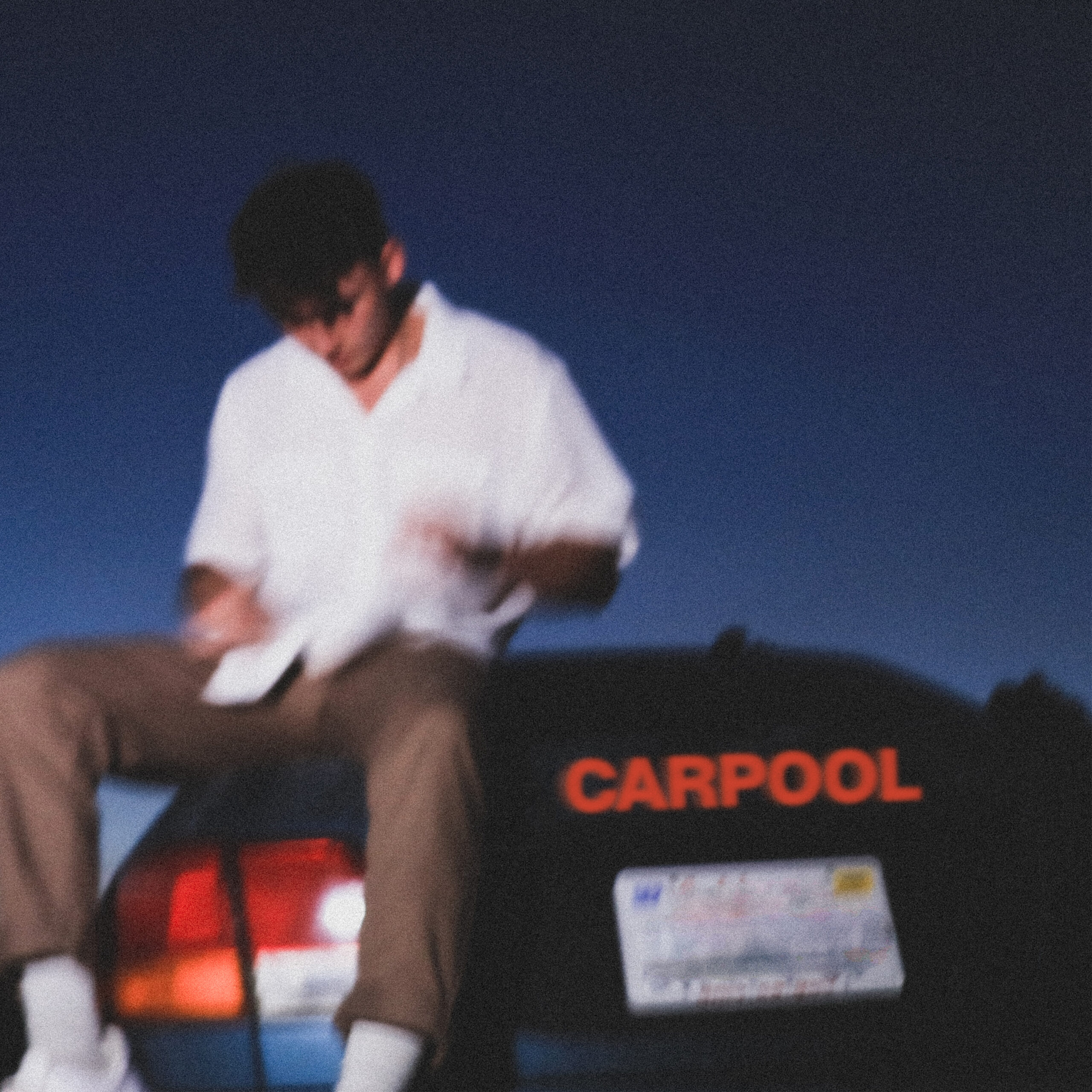 Zachary Knowles 'carpool single' shot by Josh Hymowitz (Cornerstone) for 360 Magazine