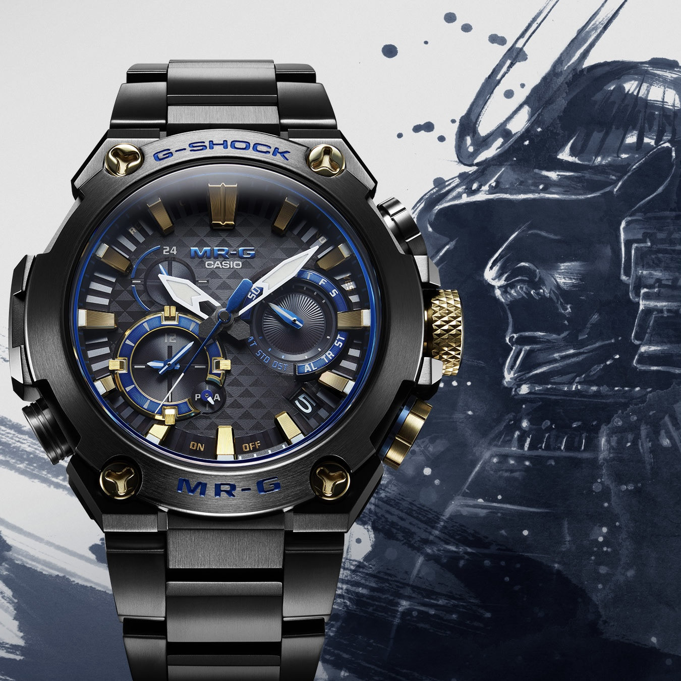 Casio G-SHOCK MR-G Series by G-SHOCK for use by 360 Magazine