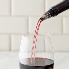 The TRIBella wine aerator via Michelle Frazee  at Everything Branding for use by 360 Magazine