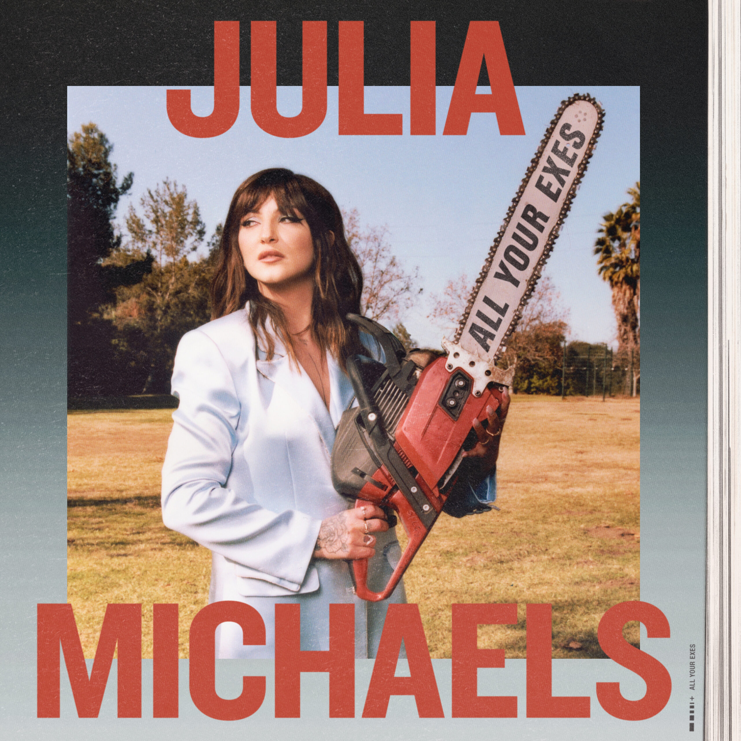 "Julia Michaels :All Your Exes"" Artwork shot by Vince Aung for use by 360 Magazine"