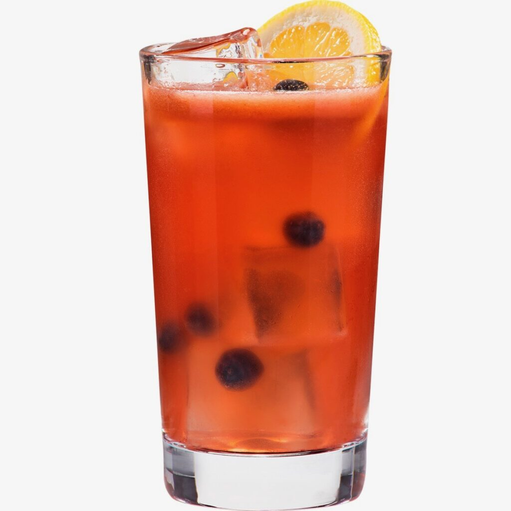 blueberry lemonade image by D'USSE Cognac for use by 360 Magazine
