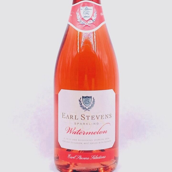 Earl Stevens Selections' Sparkling Watermelon Wine Image via Chantel Muentes at Berk Communications for use by 360 Magazine