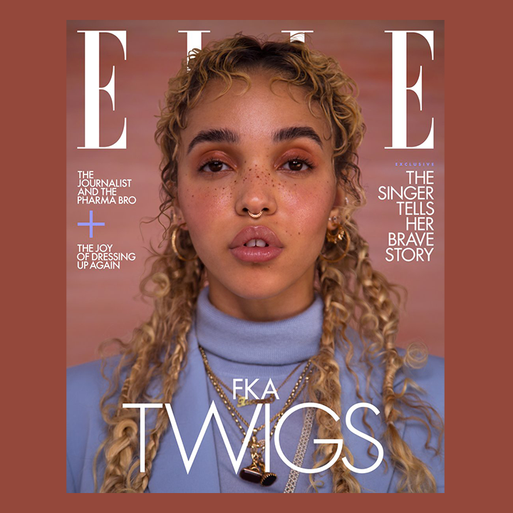 Elle Canada Magazine Cover featuring FKA Twigs