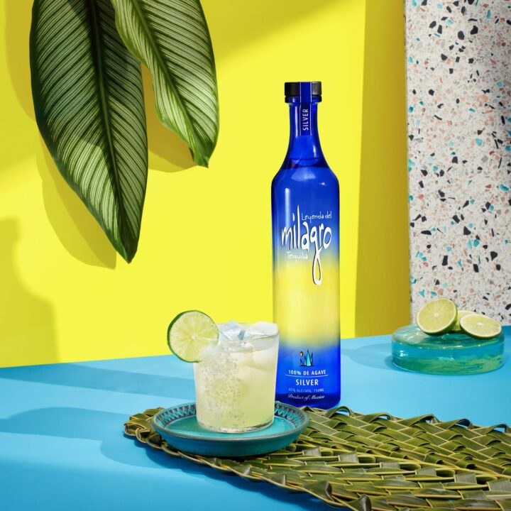 Milagro Tequila and Luis Lopez's The Freshest Margarita image via Vicki Scarfone at M&CSATAACI for use by 360 Magazine