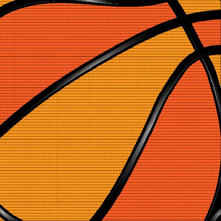 Basketball illustration by Heather Skovlund for 360 Magazine