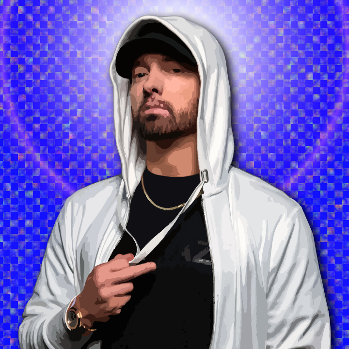 Eminem illustration by Heather Skovlund for 360 Magazine