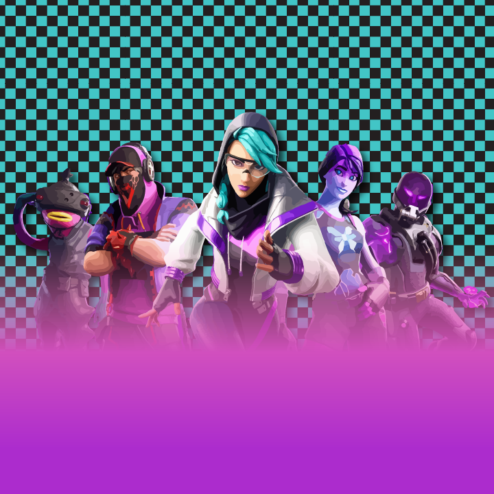 Fortnite illustration by Heather Skovlund for 360 Magazine